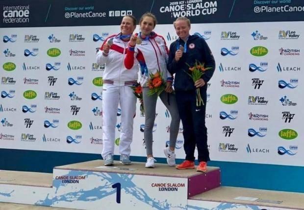 Полина Мухгалеева – серебряный призер этапа Кубка мира по гребному слалому