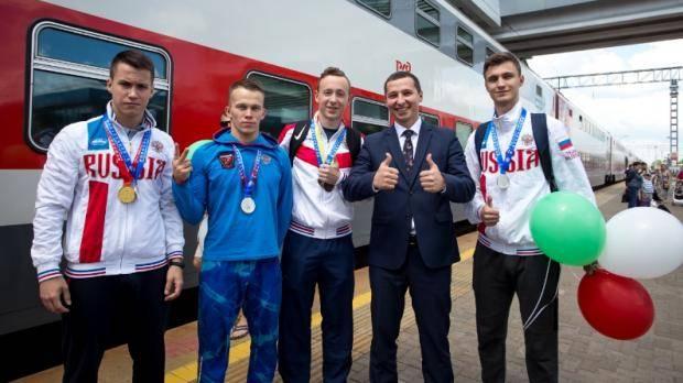 Татарстанские мастера ушу вернулись в Казань с медалями чемпионата мира