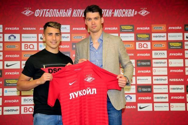 «Спартак» объявил о трансфере Понсе (фото, видео)