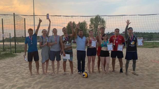 В Набережных Челнах завершился открытый турнир по пляжному волейболу «Микст-2019»