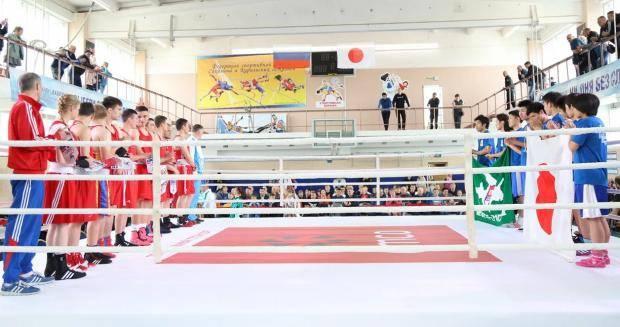 Сахалинцы успешно выступили на матчевой встрече с японскими боксёрами