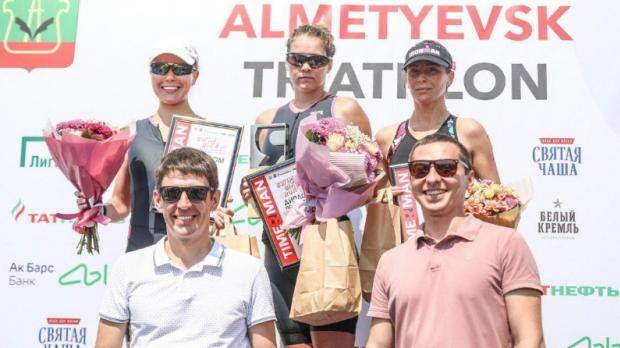 На старт Альметьевского триатлона вышли 300 спортсменов