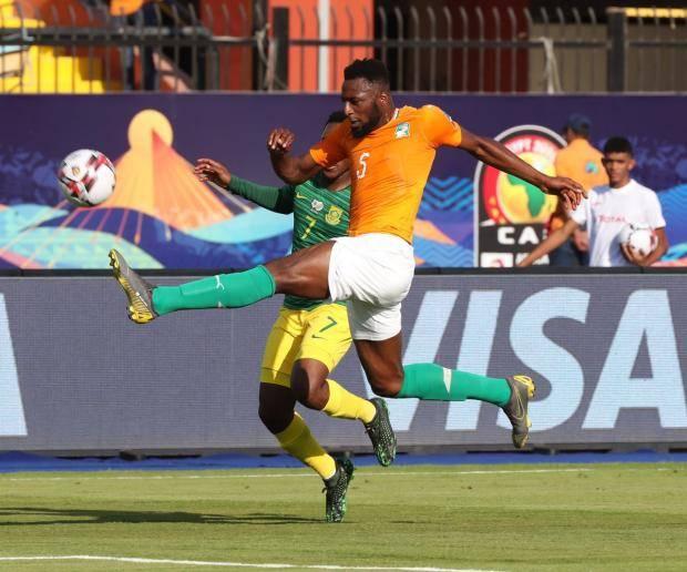 Кот-д'Ивуар обыграл ЮАР на Кубке африканских наций