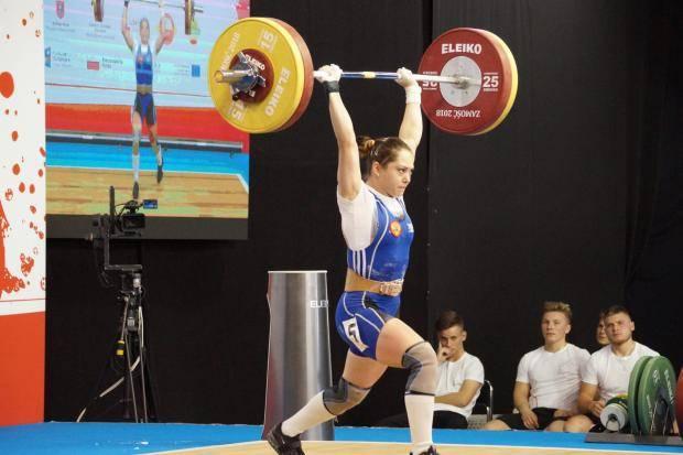 Ольга Те стала чемпионкой России по тяжелой атлетике