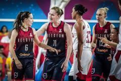 Россиянки уступили Бельгии в первом матче Евробаскета-2019