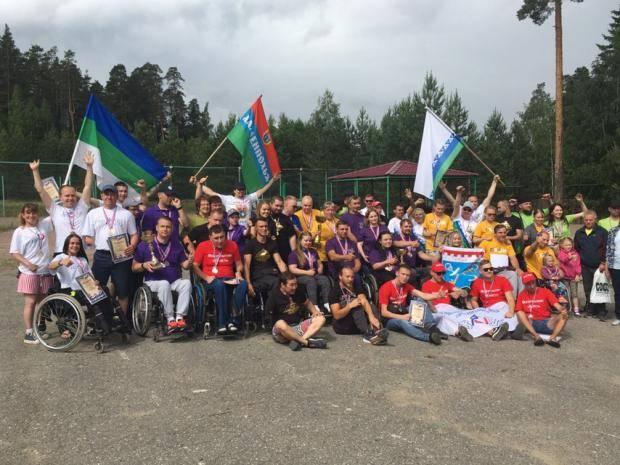 Команда Коми завоевала десять медалей спортивного фестиваля СЗФО среди инвалидов