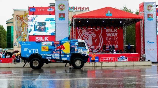 Бугульма приняла парад участников международного ралли «Шелковый путь»