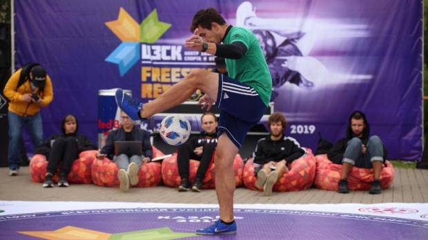 В Казани прошел традиционный турнир Freestyle Republic