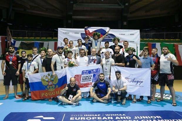 Игорь Глазков – чемпион Европы по смешанному боевому единоборству ММА