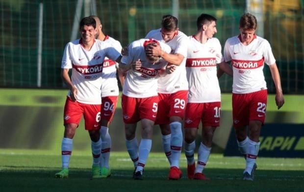 «Спартак» обыграл ЦСКА в Австрии, играя в большинстве
