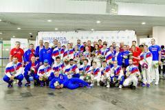 Сборная привезла из Белоруссии 58 кг медалей