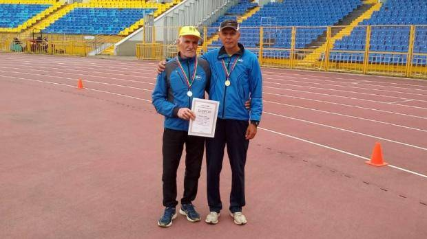 Динамовцы стали победителями и призерами первенства РТ по легкой атлетике среди ветеранов