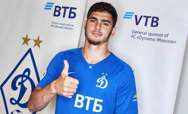Шейдаев перешел в московское «Динамо»