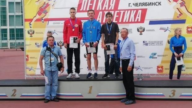 Заинский легкоатлет завоевал серебро первенства России