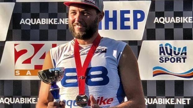 Александр Курашмин завоевал серебро чемпионата Европы по аквабайку