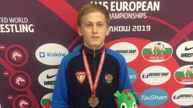 Татарстанец завоевал «бронзу» первенства Европы по греко-римской борьбе