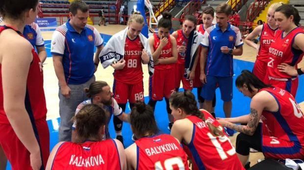 Женская сборная России по баскетболу разгромила Румынию в первом матче Универсиады-2019