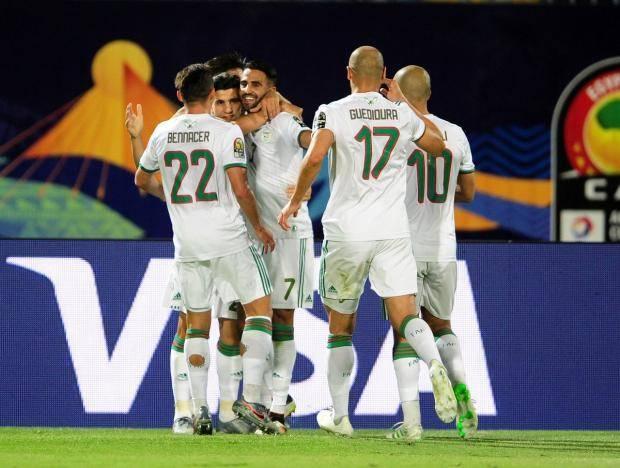 Алжир обыграл Гвинею и вышел в четвертьфинал Кубка африканских наций