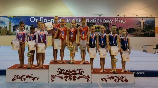 Кубанские гимнастки второе место на Спртакиаде учащихся Грасиас