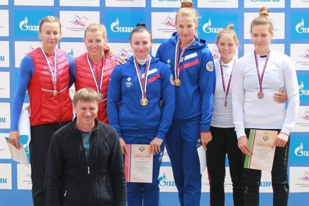 Омские гребцы выиграли 17 медалей на чемпионате России