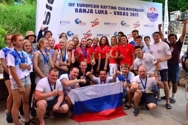 Команды «Енисеюшка» и «Ермак» – чемпионы Европы по рафтингу