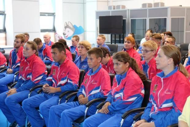 Команда Красноярского края отправляется на III Всероссийскую летнюю Спартакиаду инвалидов
