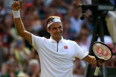 Федерер одержал сотую победу на Уимблдоне за 20 лет