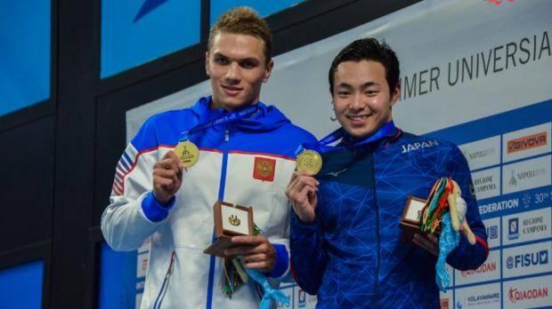 Егор Куимов завоевал золото Универсиады в Неаполе
