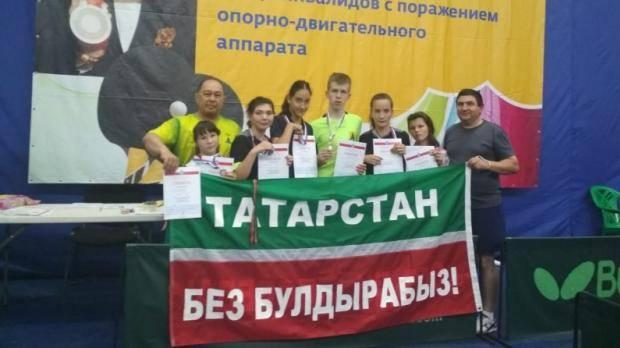 Сабинские теннисисты завоевали медали на Всероссийском турнире по настольному теннису
