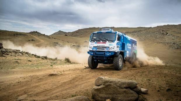 Экипаж Каргинова выиграл пятый этап ралли «Шелковый путь» в зачете грузовиков