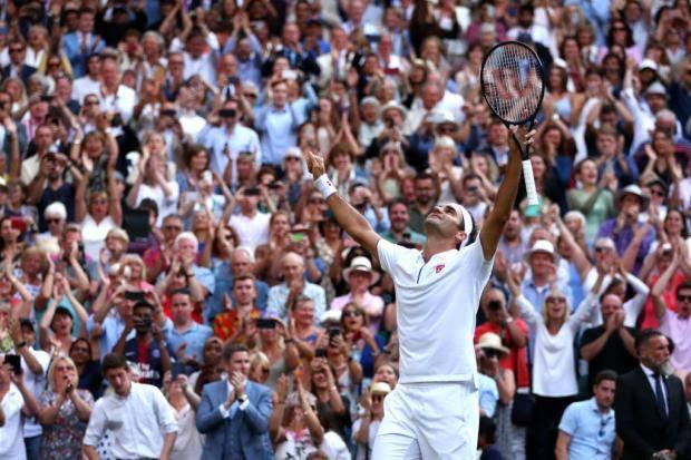 Федерер обыграл Надаля и вышел в финал Уимблдона