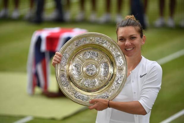 Симона Халеп взяла верх над Сереной Уильямс и впервый раз выиграла Уимблдонский турнир