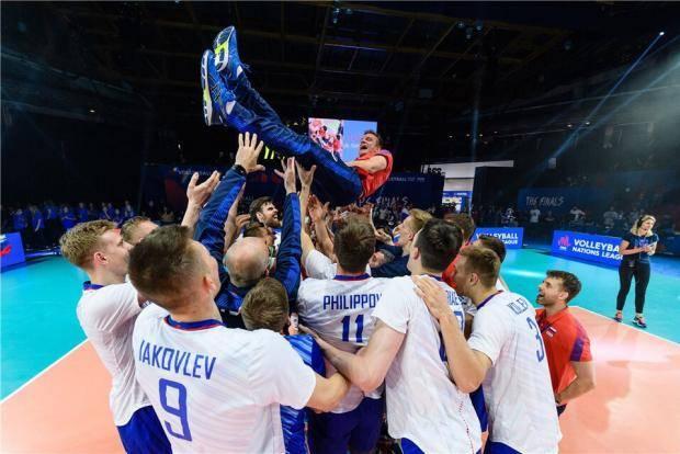 Команда-оркестр: победив в финале США, россияне снова выиграли Лигу наций