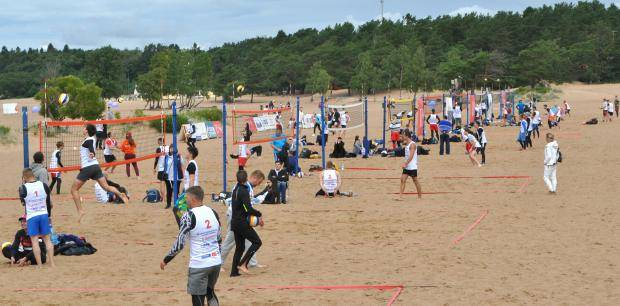 В Петербурге состоялся XX Всероссийский фестиваль пляжного волейбола