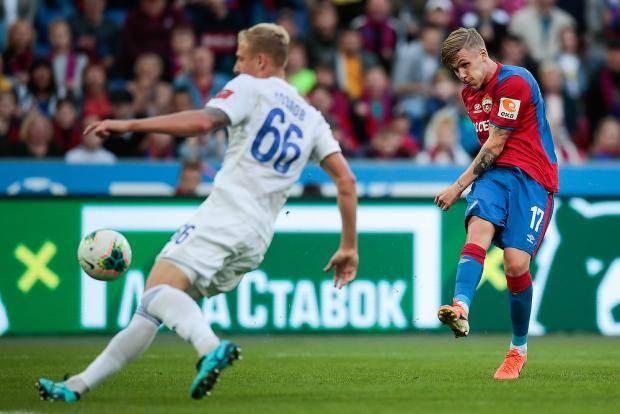 ЦСКА одержал победу над «Оренбургом» срезультатом 2:1