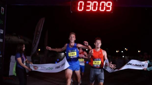 На старт ночного забега в Казани вышли более 2800 спортсменов