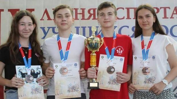 Сборная РТ по шахматам завоевала бронзовые медали в финальном турнире Спартакиады