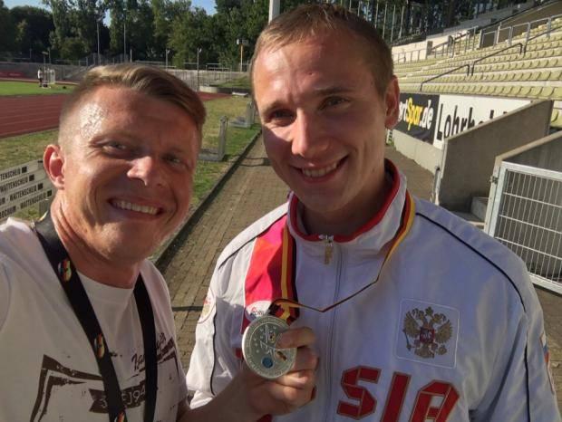 Илья Штанько стал серебряным призером чемпионата Европы по спорту глухих