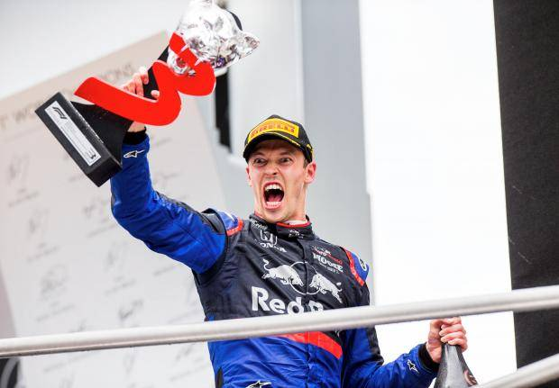 Гран-при Германии: Квят завоевал подиум впервые с 2016 года