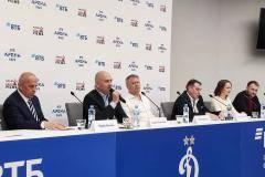 На «Динамо» презентовали фильм о Яшине
