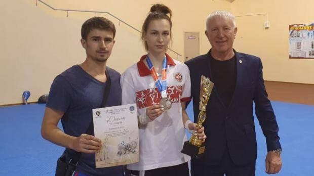 Казарновская завоевала серебро соревнований по тхэквондо IX Спартакиады учащихся