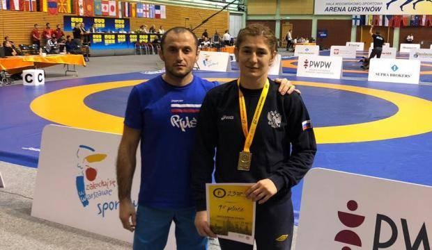 Белореченская спортсменка завоевала золото международного турнира по борьбе
