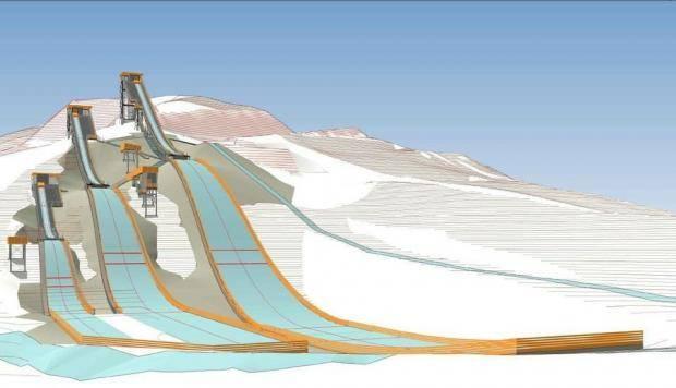 На склонах кластера «Сопка» стартует строительство трамплинов