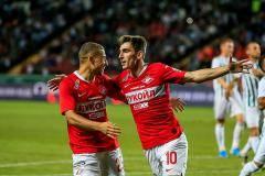 «Спартак» обыграл «Ахмат» благодаря дублю Бакаева и голу Шюррле