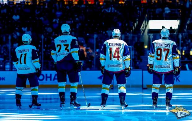 «Магнитка» провела лучшую селекцию в КХЛ. Она идет за Кубком Гагарина