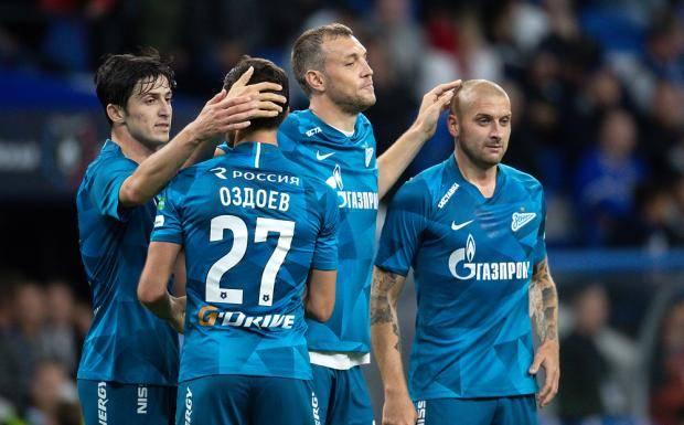 Зенит боруссия полный матч