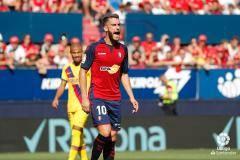 «Барселона» упустила победу в концовке матча с «Осасуной»