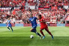 Соперник «Локомотива» по Лиге чемпионов «Байер» сыграл вничью с «Хоффенхаймом»