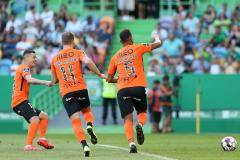 «Риу Аве» одержал волевую победу над «Спортингом», трижды забив с пенальти