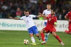 Армения проиграла Италии в отборе Евро-2020